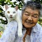 Babcia i jej kot