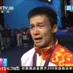 Olimpijczyk z Chin przeprasza, że zdobył TYLKO srebro!