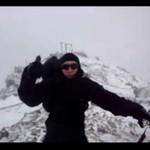 Rekordowa prędkość wiatru na Śnieżce - 141 km/h!!!