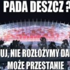 Zalany Stadion Narodowy - HIT INTERNETU! (MEGA GALERIA)