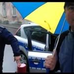 Policja vs turysta ze Stalowej Woli
