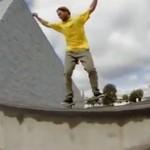 Imponujące triki skateboardowe