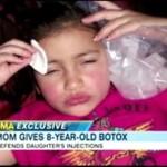 8-latka, której matka wstrzykuje botox!