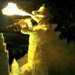 Godzilla zamiast bałwana!