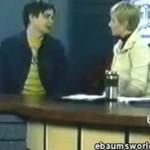 Zwymiotował podczas wywiadu
