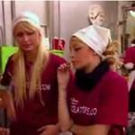 Paris Hilton i Nicole Richie pracują w cukierni!