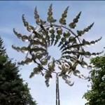 Sztuka kinetyczna - niesamowity wiatrak!