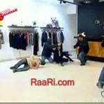 Napad na sklep odzieżowy