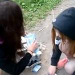 Dziewczyny z Rosji poszły na zakupy