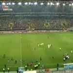 Zamieszki podczas meczu Serbia - Portugalia!