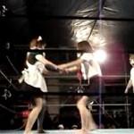 Młode Japonki na ringu