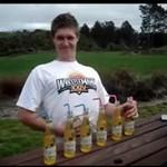 Alkoholowy rekordzista - przegiął!