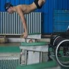 Pływak bez nóg - pokonał swoje kalectwo!