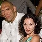 OLBRZYM z Rosji i jego żona