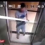 Uwięził się w windzie