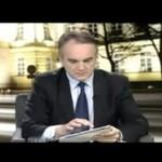 Waldemar Pawlak i jego tablet