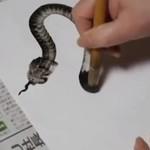 Rysowanie węża - poziom EKSPERT