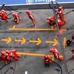 Pitstop Ferrari - perfekcja w każdym calu