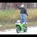 Idiota pozbył się motoru!