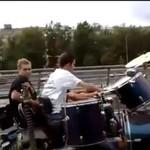 Rock band... na motocyklu!