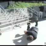 Bolesna wpadka na schodach