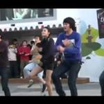 Połączenie taekwondo i tańca - wow!