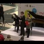 Niespodziewany uczestnik koncertu chopinowskiego