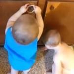 Dzieci odkrywają magiczny świat taśmy