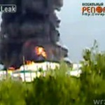 Eksplozja rafinerii w Rosji - POTĘŻNA!