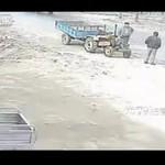 Jazda po pijaku - na traktorze!