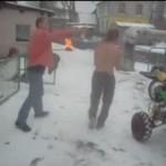 Zimowe szaleństwo wariatów