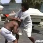 Pojedynek ulicznych zawodników