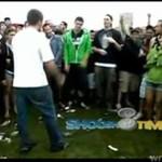 Taniec przerodził się w bójkę