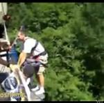 Jak wystraszyć skaczącego na bungee? CHOLERNIE DOBRE!!!