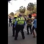 Stary policjant wywija jak gimbaza!