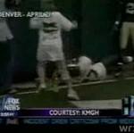 Czteroletni kibic ucierpiał na boisku