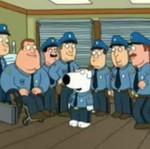 Brian pracuje w policji