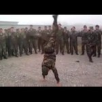 Muzyczna rozgrzewka żołnierzy