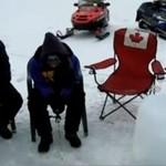 KANADA - łowienie pod lodem