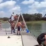 Huśtawka nad wodą - dobry pomysł?