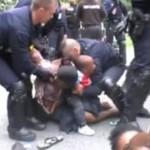 Brutalna policja kontra bezdomni - WSTRZĄSAJĄCE!