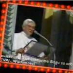 Papież mówi po polsku