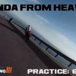 """Honda """"z nieba"""""""