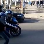 Wyścigi motocyklistów - ruszyli z kopyta!