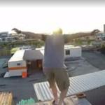 Scena pościgu na kontenerach - SKOŃCZYŁ BEZ ZĘBA!