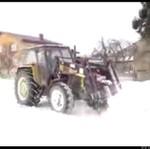 Odśnieżanie na wsi