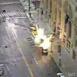 Eksplozja na ulicy