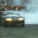 Drifting BMW