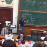Cudowny wykładowca geometrii wykreślnej