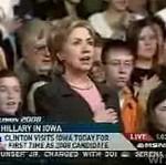 Hilary Clinton nie potrafi śpiewać hymnu USA
